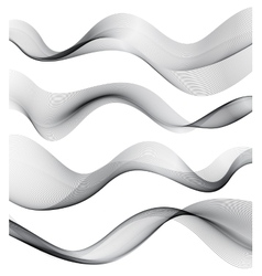Set of transparent smoke wave vector