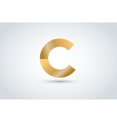 C letter icon template vector