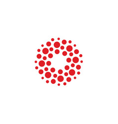 Circles logo new modern isolated abstract vector