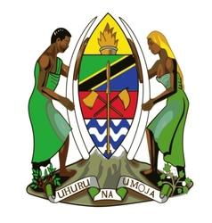 coat of arms of Tanzania vector image vector image