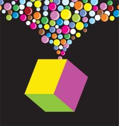cube pop vector image