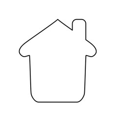 Home draw house vector