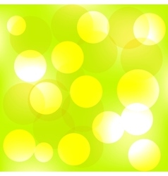 Summer forest bokeh vector