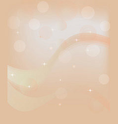 abstract backround with waves and stars vector image vector image
