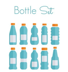 bottles light1 resize vector image