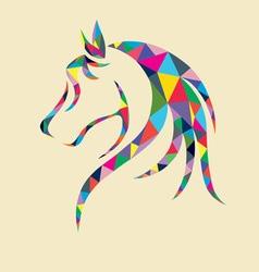Head horse vector