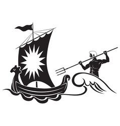 Poseidon vector