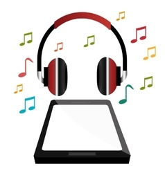Music online graphic vector