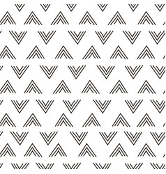 Abstract geometric fashion design print triangle vector