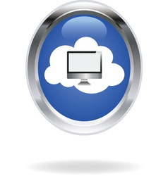 Cloud computing 09 resize vector image vector image