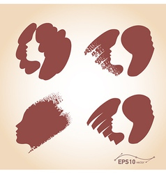 Hair set vector