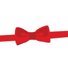 Bow tie vector image