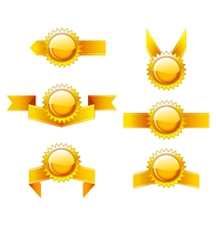 Set of golden labels vector