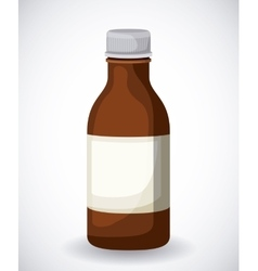 Plastic bottle design vector