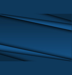 abstract dark blue background diagonal lines vector image vector image