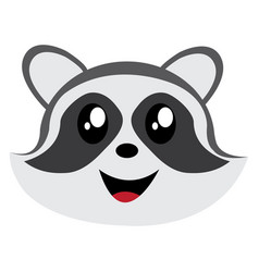 Avatar of raccoon vector