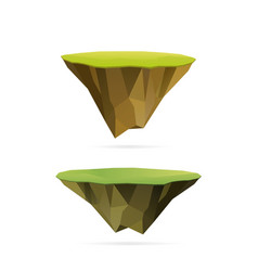 Floating islands vector