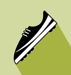 Shoes Football Icon vector image