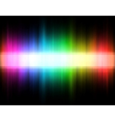 rainbow band vector image