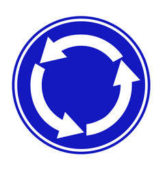 blue white arrows right hand vector image