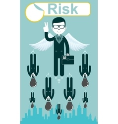Business risks vector