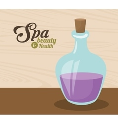 Spa beauty and health aromatherapy vector