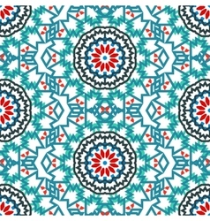 Ethnic colorful bohemian pattern vector