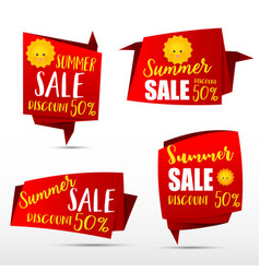 049 collection of web tag banner for promotion vector