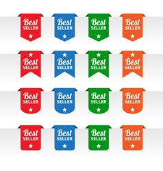 Best seller paper tag labels vector