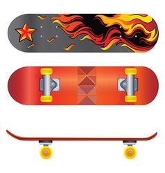 A skateboard vector image