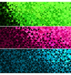 Abstract Light Brilliant Fun Holiday Banner vector image vector image