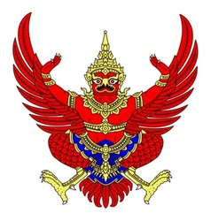 coat of arms of Thailand vector image vector image