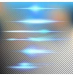 Flash energy ray EPS 10 vector image vector image