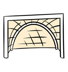 Hockey gates icon icon cartoon vector