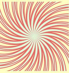 spiral vintage decorative vector image vector image