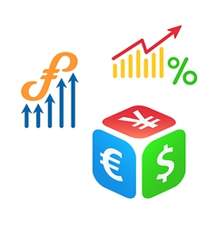 Forex trading vector