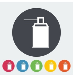 Spray with chemicals vector image