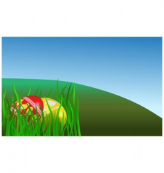Easter morning vector image