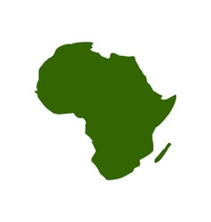 Africa-Map-380x400 vector image