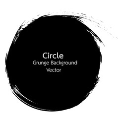 Circle Grunge design vector image vector image