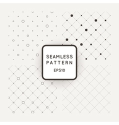 Set of seamless mesh-patterns grids of vector image