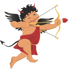 Bad cupid vector