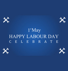 happy labor day background style vector image