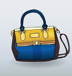 Fancy handbag vector