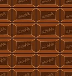 seamless pattern with chocolate texture-8 vector image