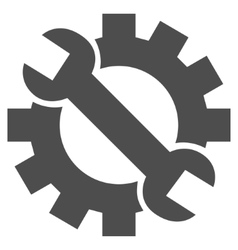 Hardware maintenance flat icon vector