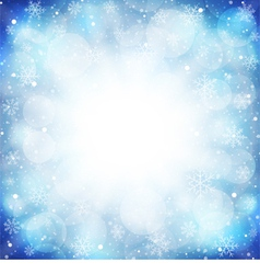Frozen background vector image vector image