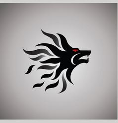 Lion logo ideas design vector