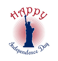 us independence day design vector image
