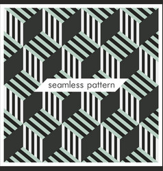 Seamless geometrical patterns abstract fashion vector